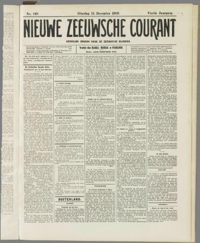 Nieuwe Zeeuwsche Courant 1908-12-15