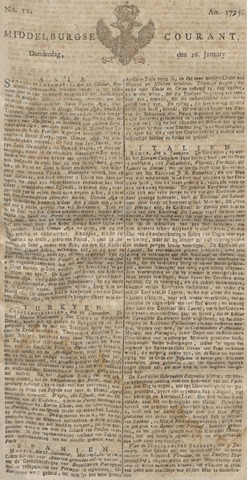 Middelburgsche Courant 1775-01-26