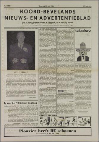 Noord-Bevelands Nieuws- en advertentieblad 1966-06-25