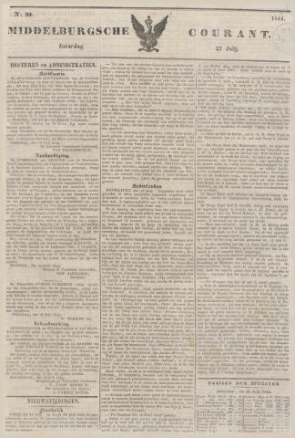 Middelburgsche Courant 1844-07-27