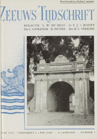Zeeuws Tijdschrift 1952-07-01