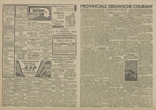 Provinciale Zeeuwse Courant 1942-12-30