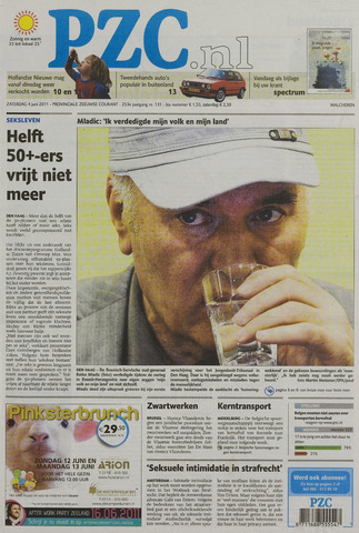 Provinciale Zeeuwse Courant 2011-06-04