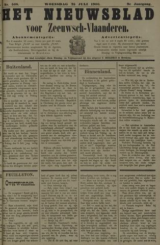 Nieuwsblad voor Zeeuwsch-Vlaanderen 1900-07-25