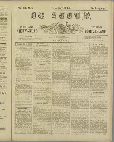 De Zeeuw. Christelijk-historisch nieuwsblad voor Zeeland 1901-07-20