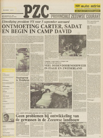 Provinciale Zeeuwse Courant 1978-08-09