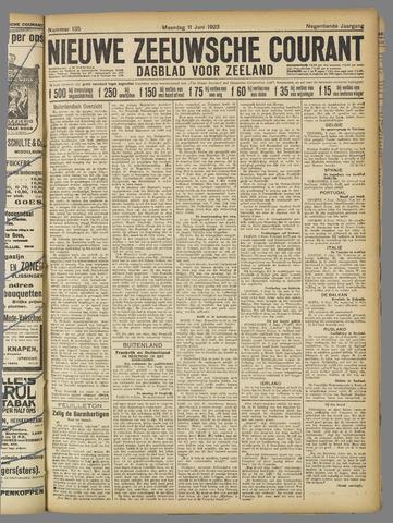 Nieuwe Zeeuwsche Courant 1923-06-11
