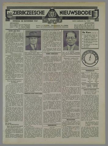 Zierikzeesche Nieuwsbode 1937-11-30