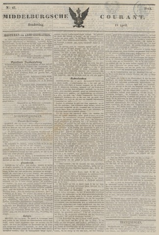Middelburgsche Courant 1844-04-18