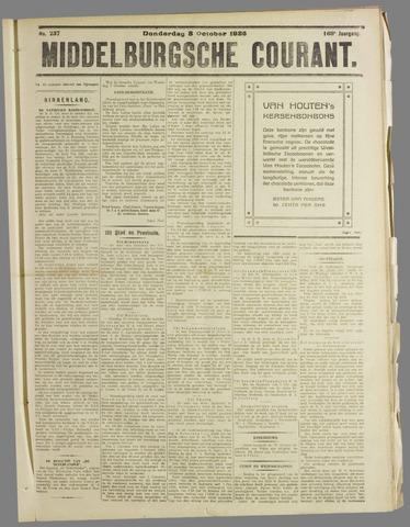 Middelburgsche Courant 1925-10-08