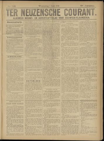 Ter Neuzensche Courant. Algemeen Nieuws- en Advertentieblad voor Zeeuwsch-Vlaanderen / Neuzensche Courant ... (idem) / (Algemeen) nieuws en advertentieblad voor Zeeuwsch-Vlaanderen 1921-06-01