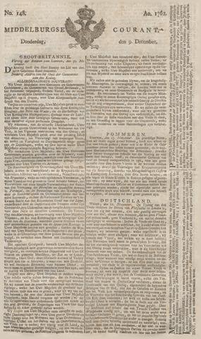 Middelburgsche Courant 1762-12-09
