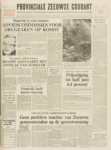 Provinciale Zeeuwse Courant 1972-07-07