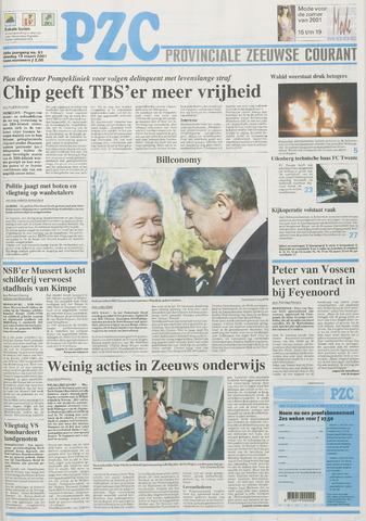 Provinciale Zeeuwse Courant 2001-03-13