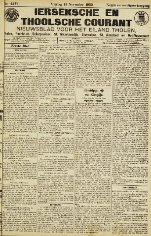 Ierseksche en Thoolsche Courant 1932-11-11