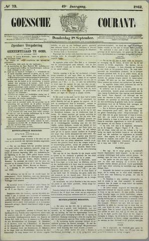 Goessche Courant 1862-09-18