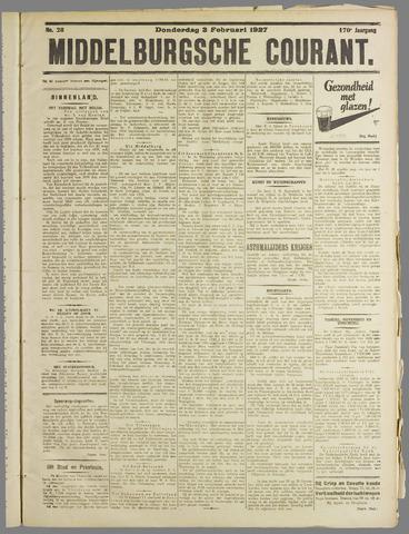 Middelburgsche Courant 1927-02-03