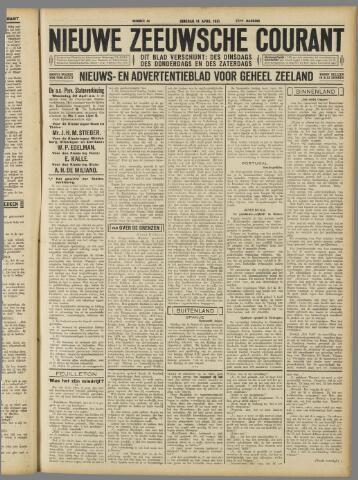 Nieuwe Zeeuwsche Courant 1931-04-14