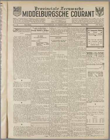 Middelburgsche Courant 1932-02-20