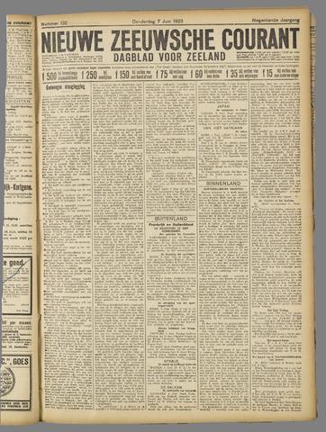 Nieuwe Zeeuwsche Courant 1923-06-07