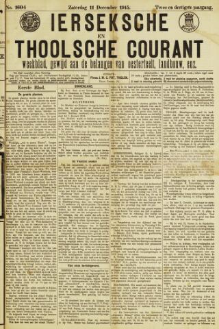 Ierseksche en Thoolsche Courant 1915-12-11