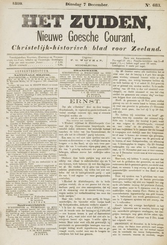 Het Zuiden, Christelijk-historisch blad 1880-12-07