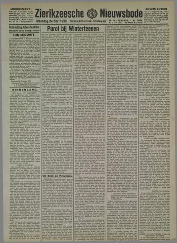 Zierikzeesche Nieuwsbode 1930-11-24