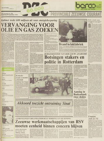 Provinciale Zeeuwse Courant 1979-09-20