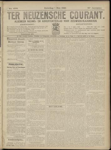 Ter Neuzensche Courant. Algemeen Nieuws- en Advertentieblad voor Zeeuwsch-Vlaanderen / Neuzensche Courant ... (idem) / (Algemeen) nieuws en advertentieblad voor Zeeuwsch-Vlaanderen 1920-05-01
