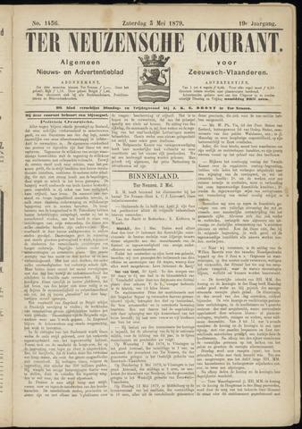 Ter Neuzensche Courant. Algemeen Nieuws- en Advertentieblad voor Zeeuwsch-Vlaanderen / Neuzensche Courant ... (idem) / (Algemeen) nieuws en advertentieblad voor Zeeuwsch-Vlaanderen 1879-05-03