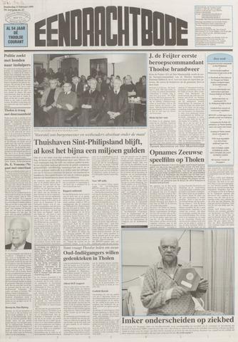 Eendrachtbode (1945-heden)/Mededeelingenblad voor het eiland Tholen (1944/45) 1999-02-11