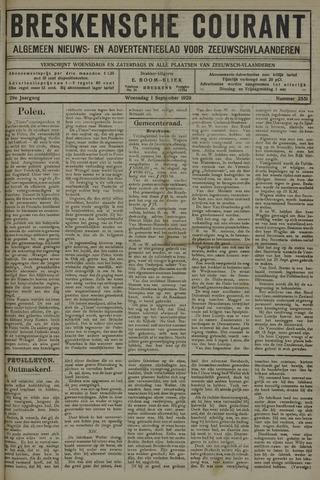 Breskensche Courant 1920-09-01