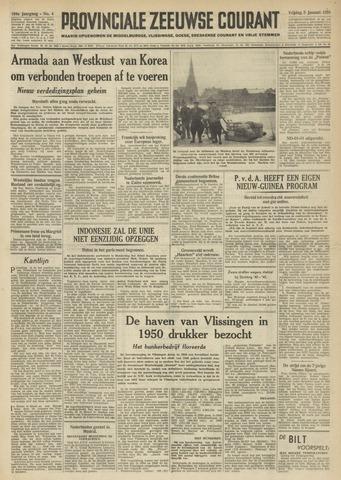 Provinciale Zeeuwse Courant 1951-01-05