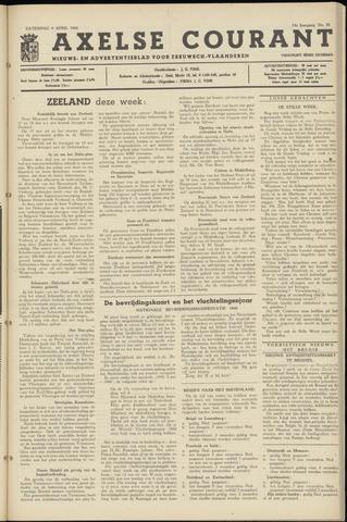 Axelsche Courant 1960-04-09