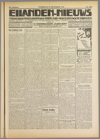 Eilanden-nieuws. Christelijk streekblad op gereformeerde grondslag 1940-12-18