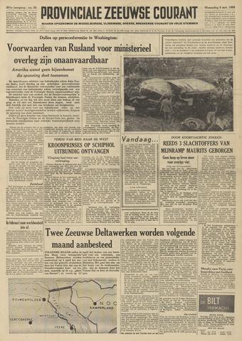 Provinciale Zeeuwse Courant 1958-03-05