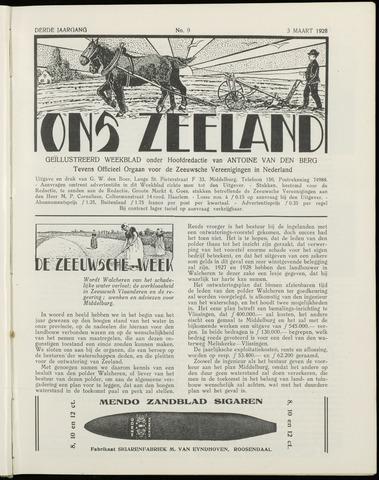 Ons Zeeland / Zeeuwsche editie 1928-03-03