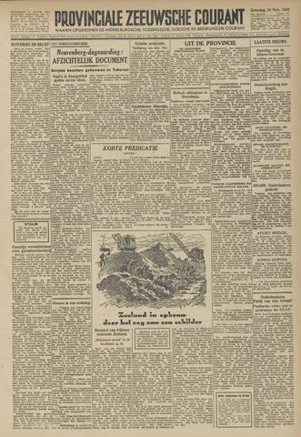 Provinciale Zeeuwse Courant 1945-11-10