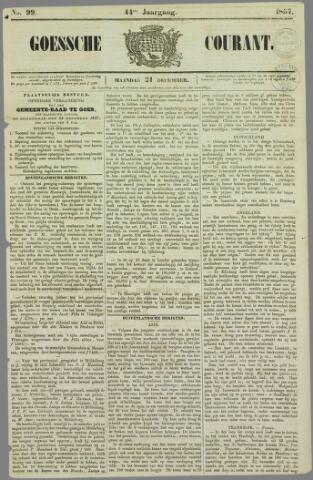 Goessche Courant 1857-12-21