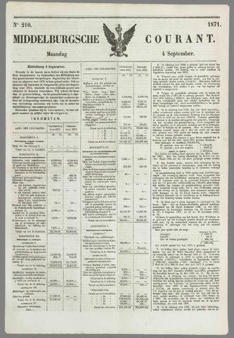 Middelburgsche Courant 1871-09-04