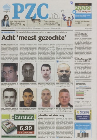 Provinciale Zeeuwse Courant 2010-01-06