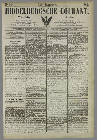 Middelburgsche Courant 1887-05-04