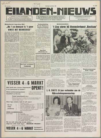 Eilanden-nieuws. Christelijk streekblad op gereformeerde grondslag 1980-11-04