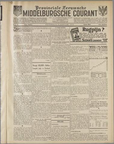 Middelburgsche Courant 1932-01-09