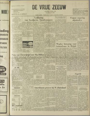 de Vrije Zeeuw 1962-04-16