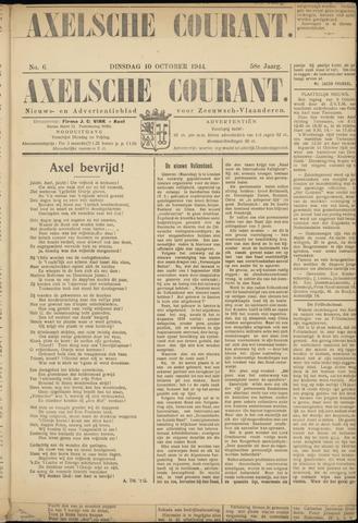 Axelsche Courant 1944-10-10
