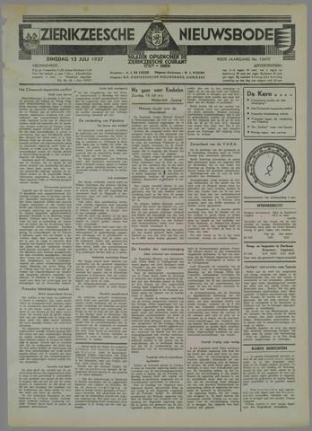 Zierikzeesche Nieuwsbode 1937-07-13