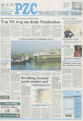 Provinciale Zeeuwse Courant 2002-01-03