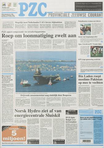 Provinciale Zeeuwse Courant 2001-11-02