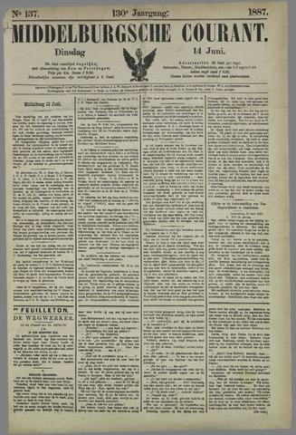 Middelburgsche Courant 1887-06-14